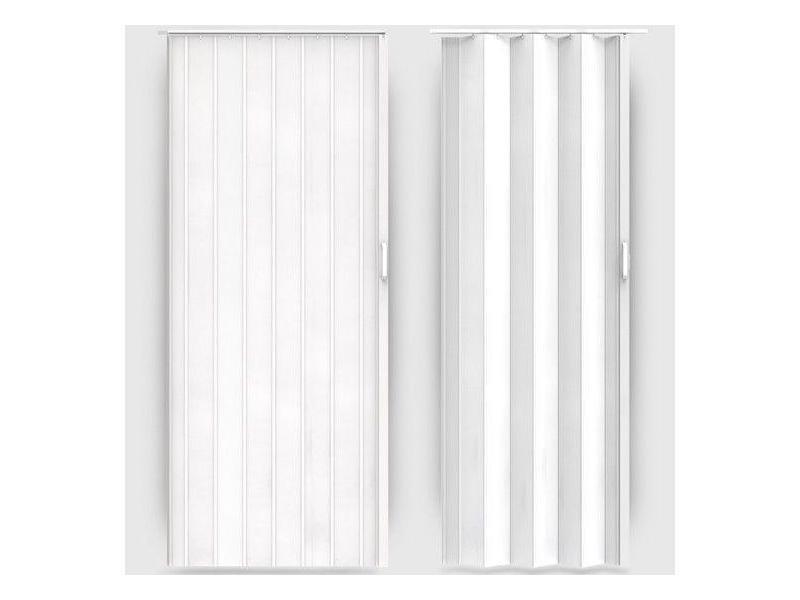 Porte accord on pliante coulissante extensible pvc salle de bain 203 cm helloshop26 2001060 - Porte accordeon pvc ...