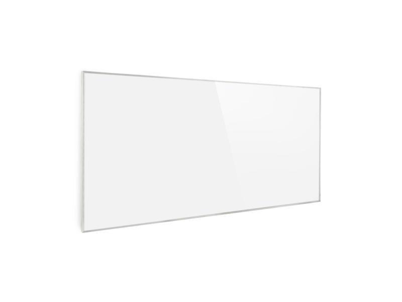 Klarstein wonderwall 72 radiateur infrarouge - panneau chauffant 60x120 cm - minuterie - 720w - blanc